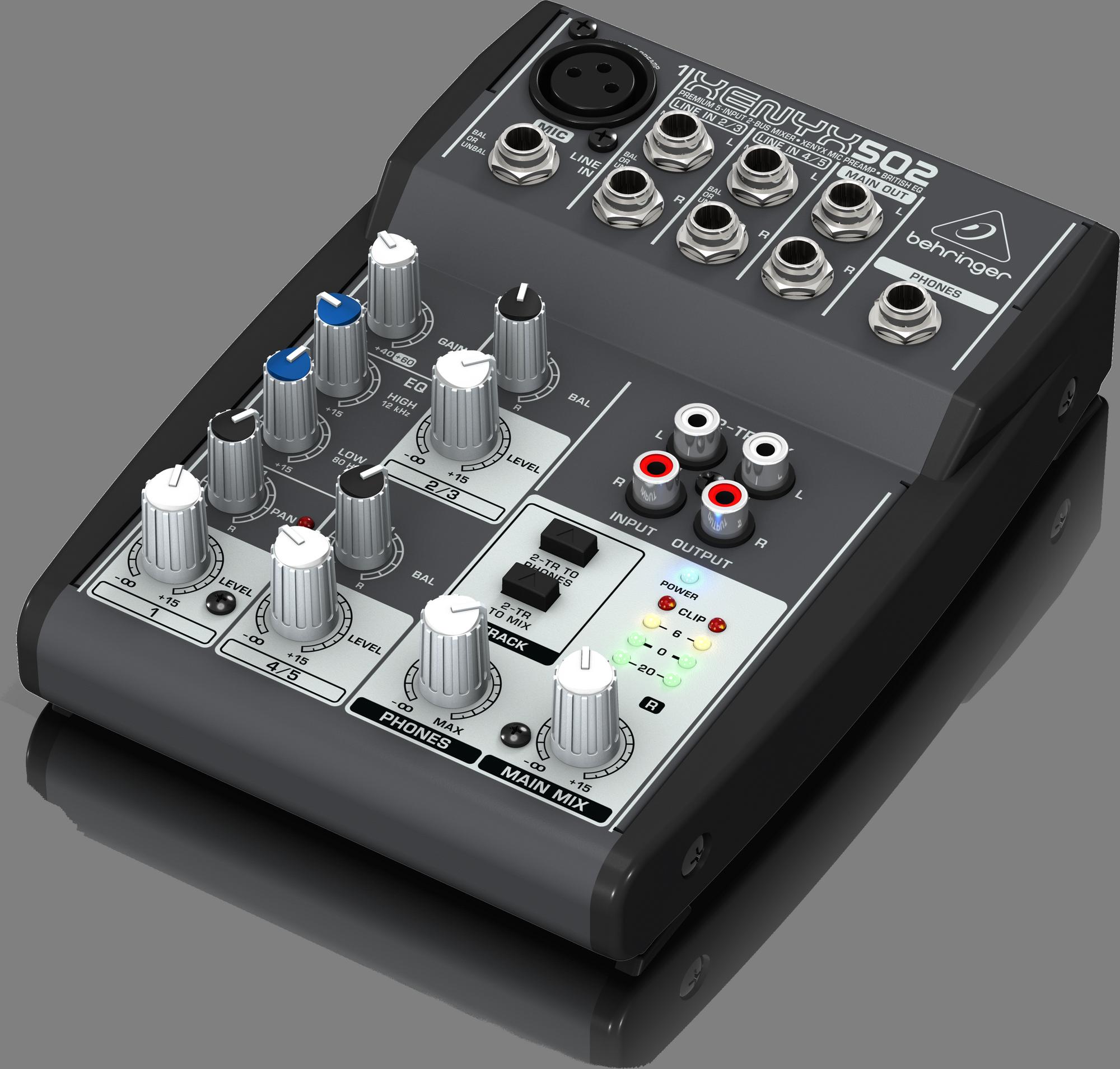 Behringer XENYX 502 - Analog mixer