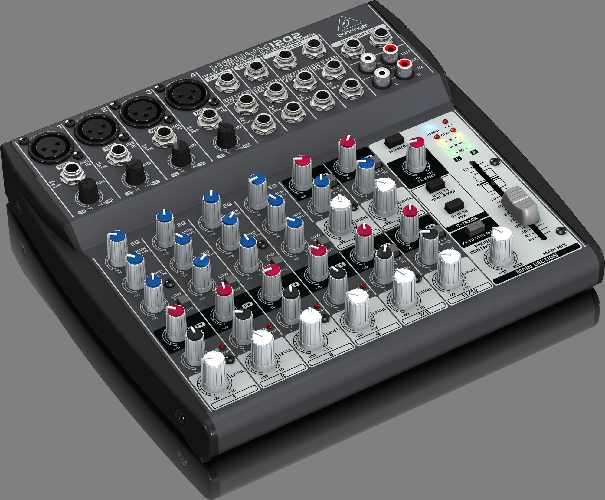 Behringer XENYX 1202 - Analog Mixer