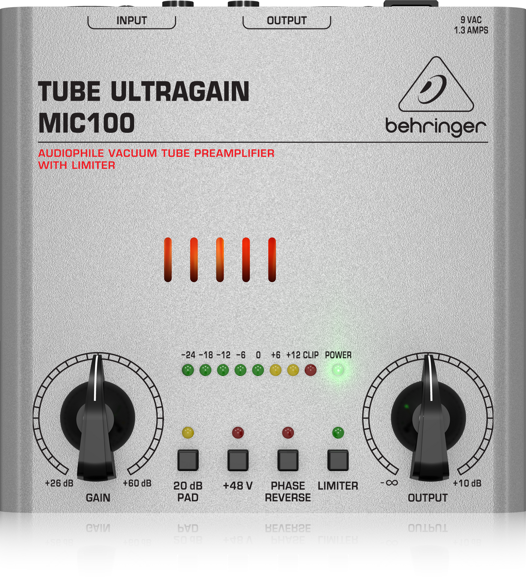 Behringer MIC100 - Microphone preamplifier