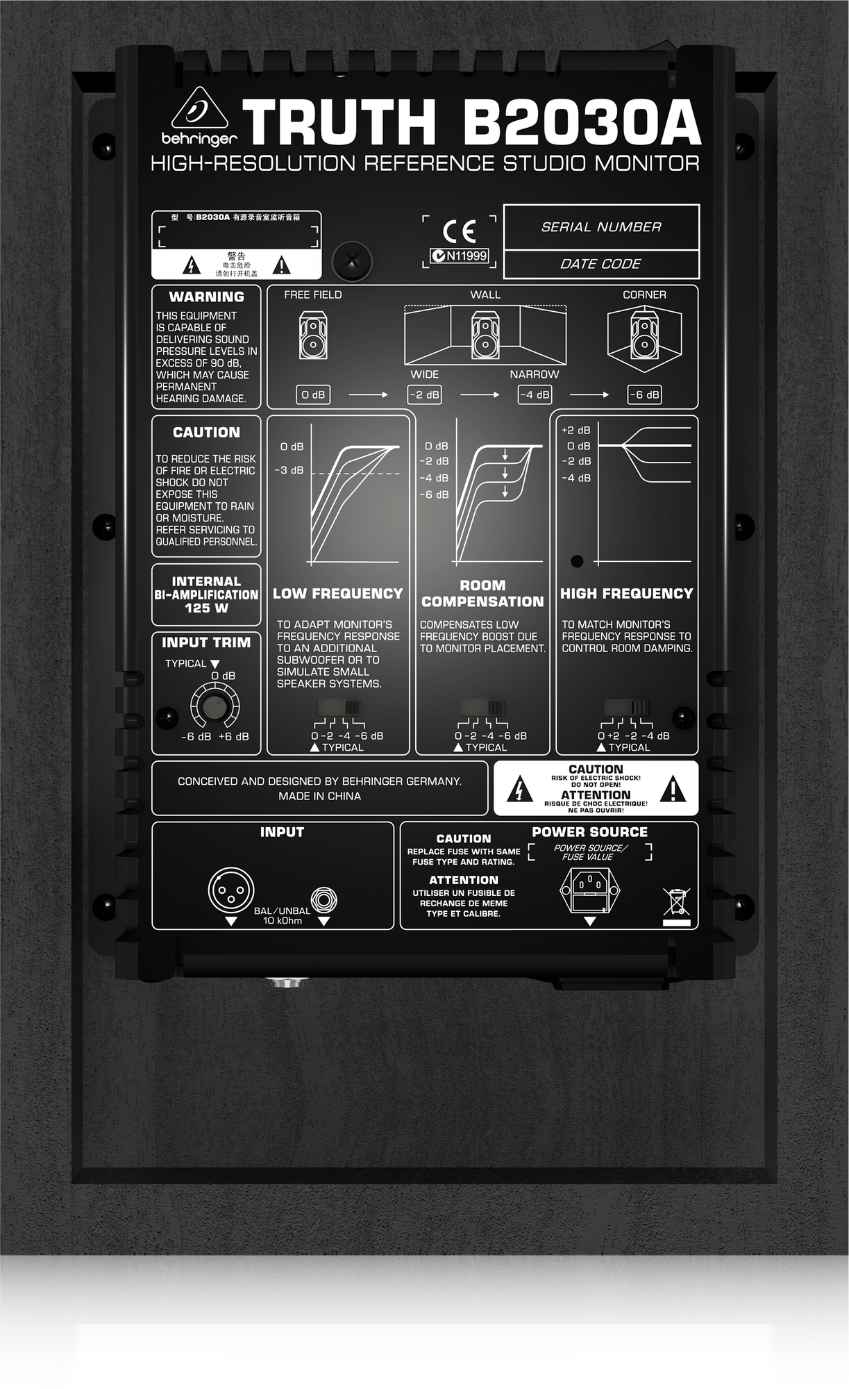 Behringer Behringer B2030A Active two-way studio monitor