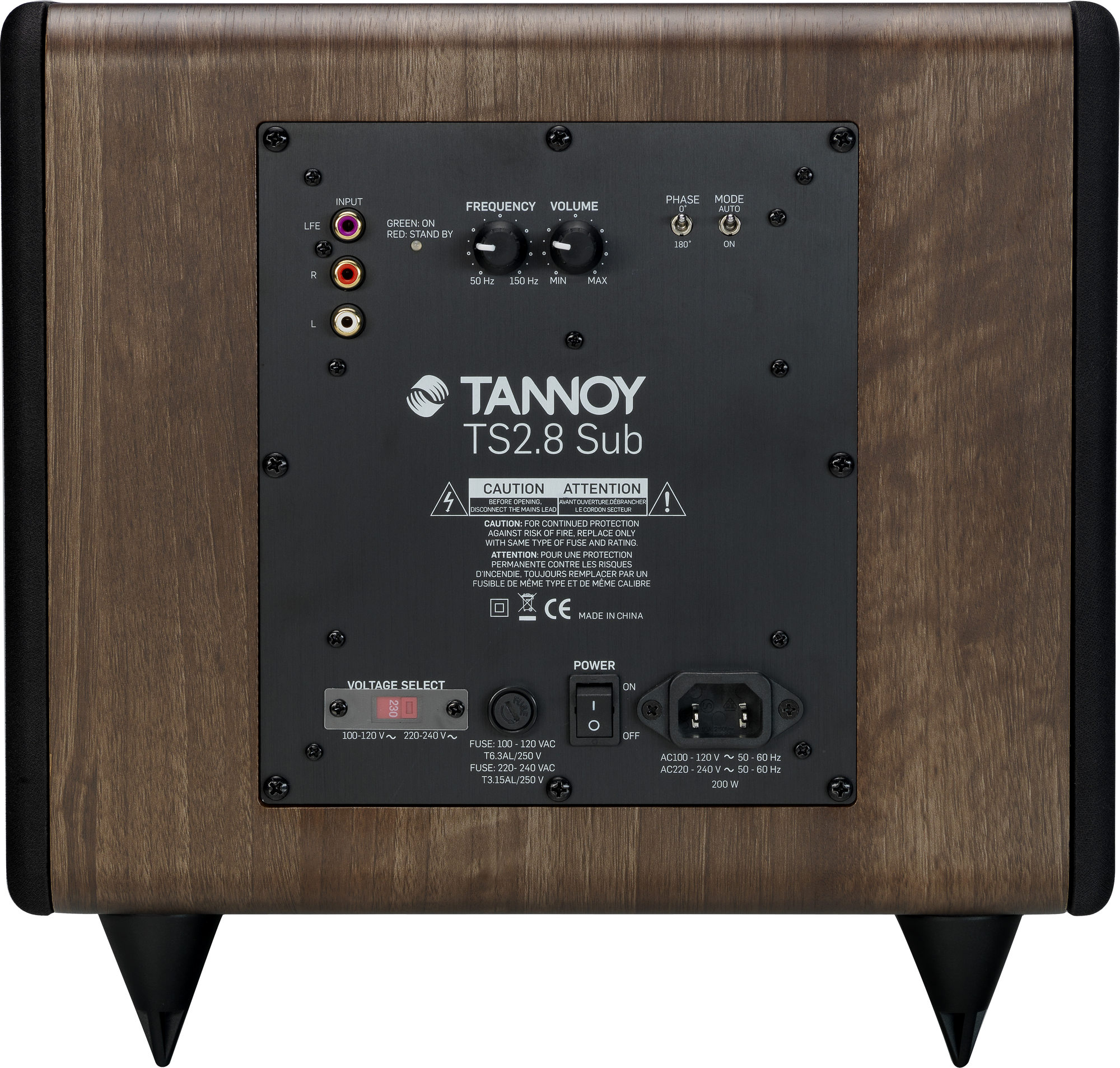 Tannoy  TS2 SUBWOOFER TS2.8-WA