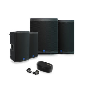 Turbosound  Weekdeal - Turbosound IQ12 and IQ18B now with free Tannoy Life Buds