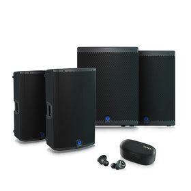 Turbosound  Weekdeal - Turbosound IQ15 and IQ18B now with free Tannoy Life Buds