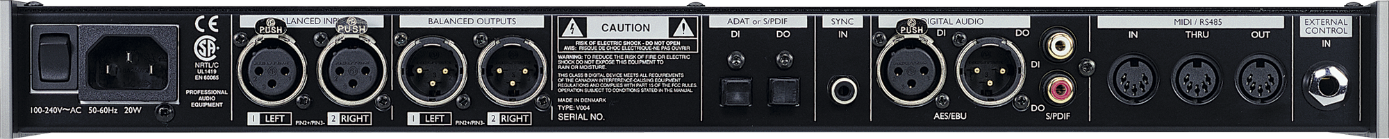 TC-Electronic M3000 Studio Reverb Processor