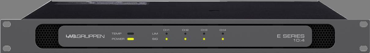 Lab Gruppen E 10:4 - Power amplifier