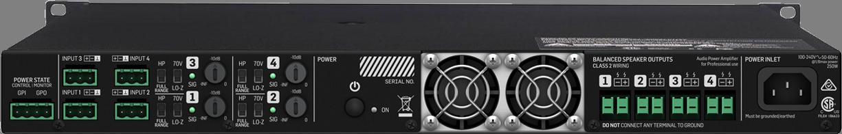 Lab Gruppen E 10:4 - Amplificateur de puissance