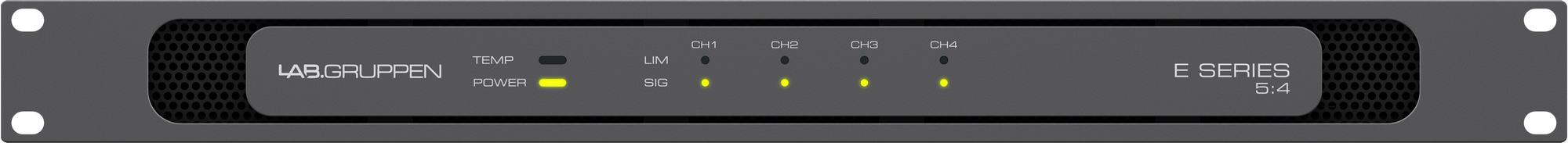 Lab Gruppen E 5:4 - Power amplifier