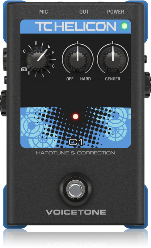 TC Helicon Voicetone C1 - Voice effect pedal