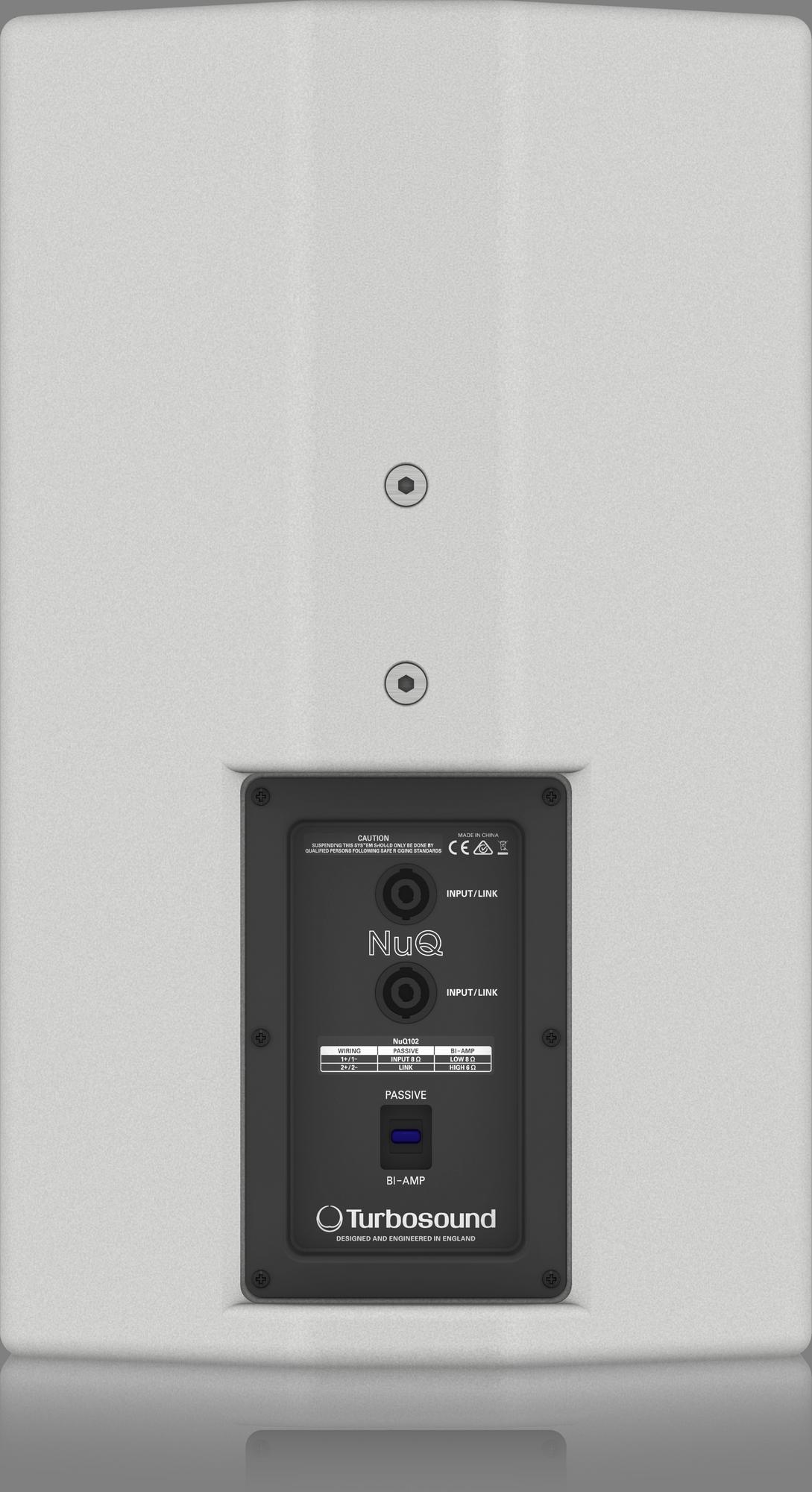 Turbosound  NuQ102-WH - Haut Parleur