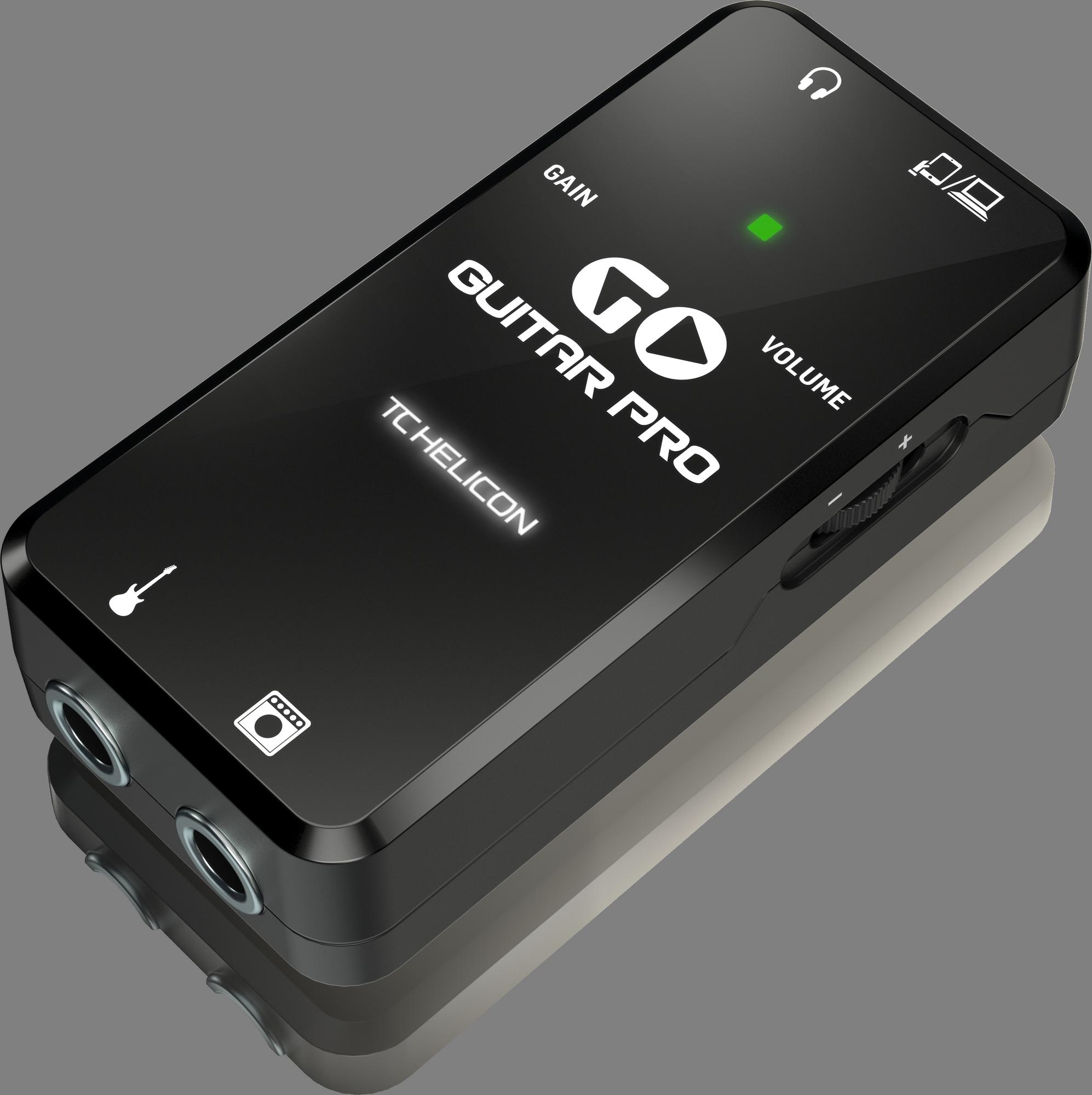 TC Helicon GO GUITAR PRO - Mobiele Audio Interface