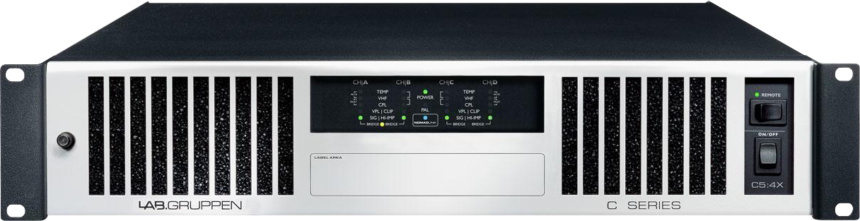 Lab Gruppen C 5:4X - Power amplifier