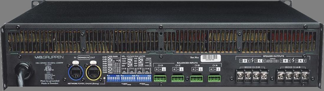 Lab Gruppen C 5:4X - Amplificateur de puissance