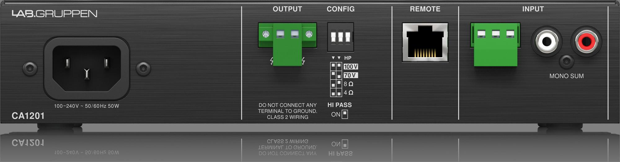Lab Gruppen CA1201 - Power Amplifier