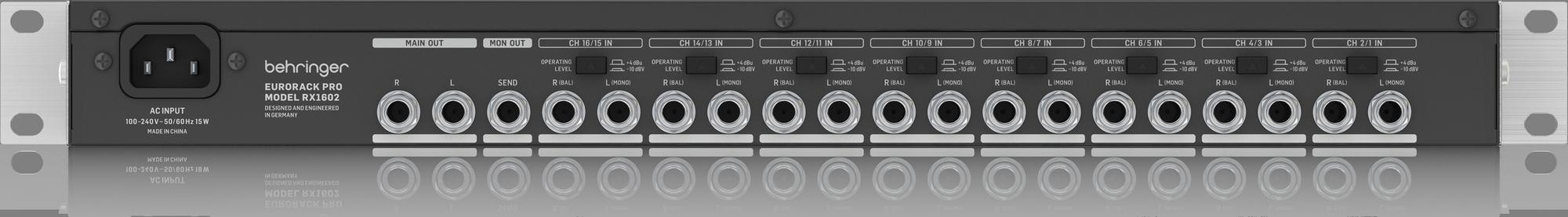 Behringer RX1602 V2 - Mélangeur à rack