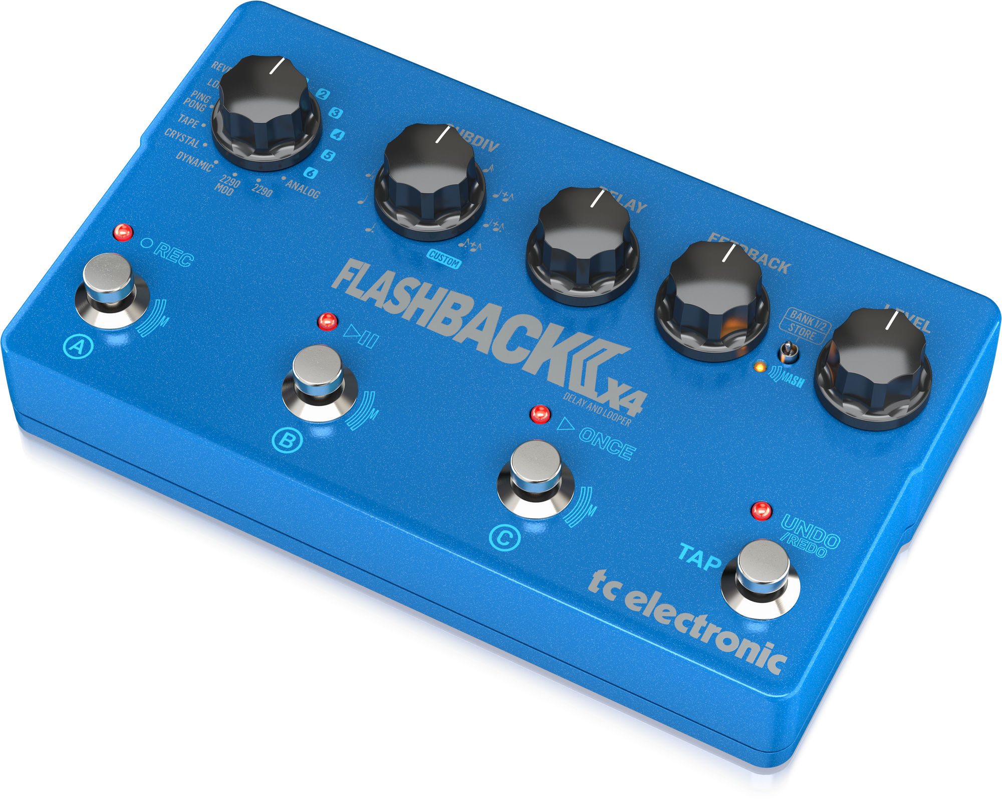 TC-Electronic FLASHBACK 2 X4 DELAY - Effet de guitare
