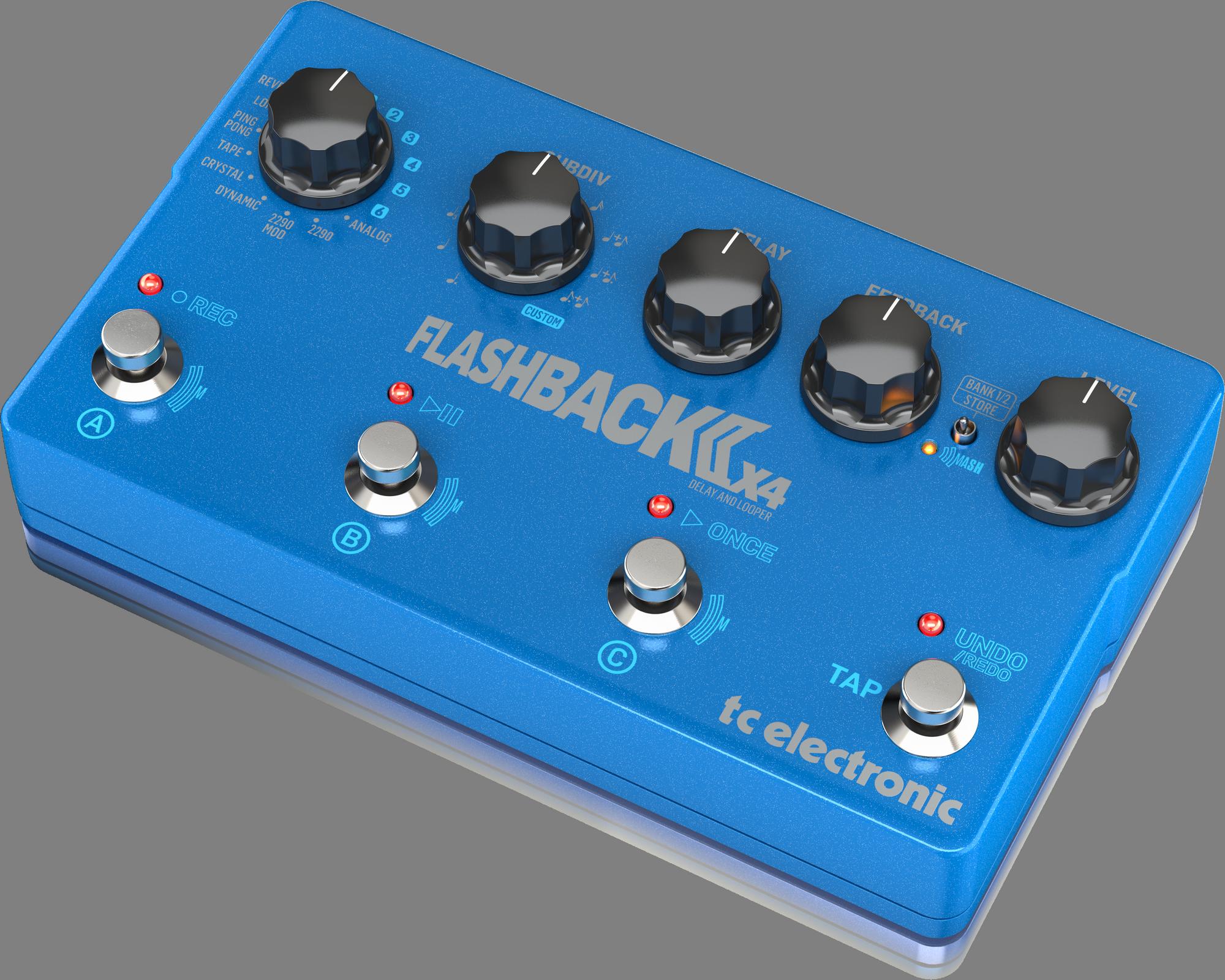 TC-Electronic FLASHBACK 2 X4 DELAY - Guitar effect