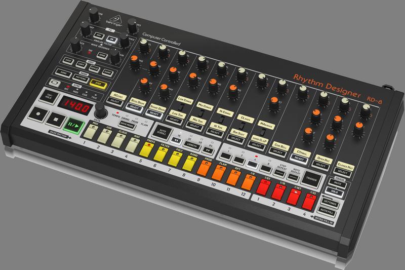 Behringer RHYTHM DESIGNER RD-8 - Drum computer