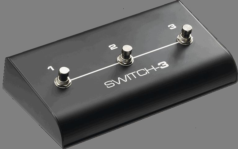 TC Helicon Switch-3 Pedale au pied