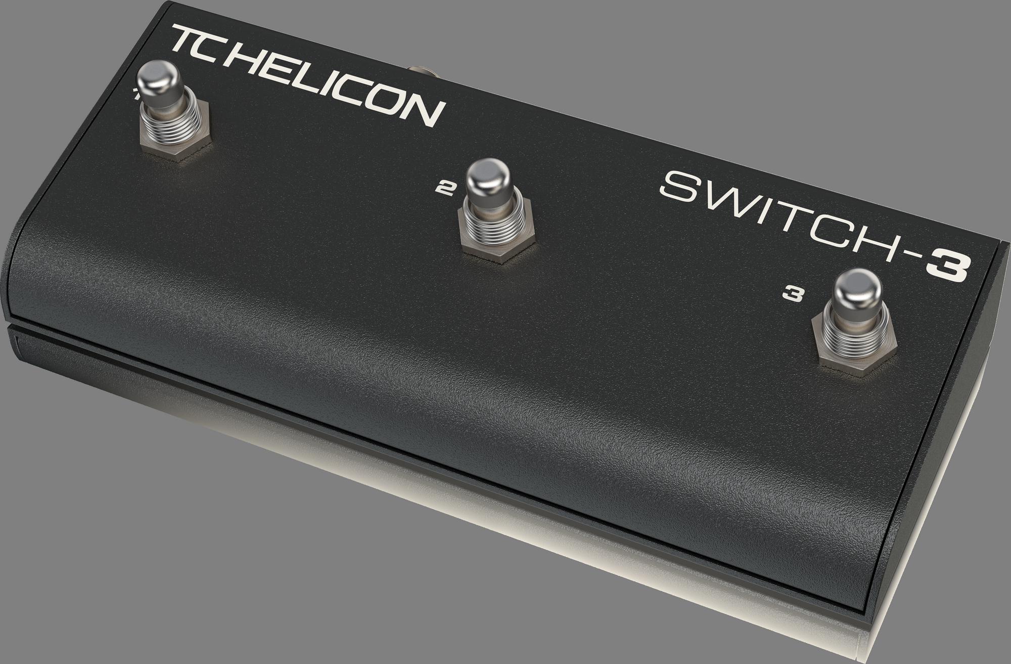TC Helicon Switch-3 Voetschakelaar
