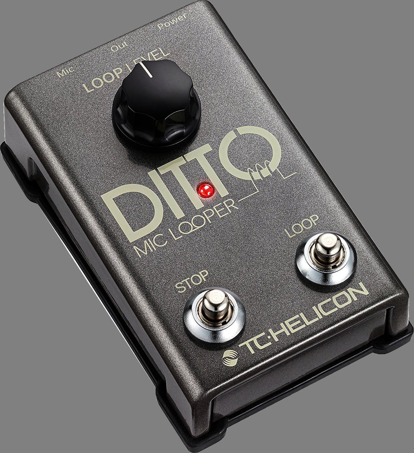 TC-Electronic DITTO MIC LOOPER - Looper pedaal