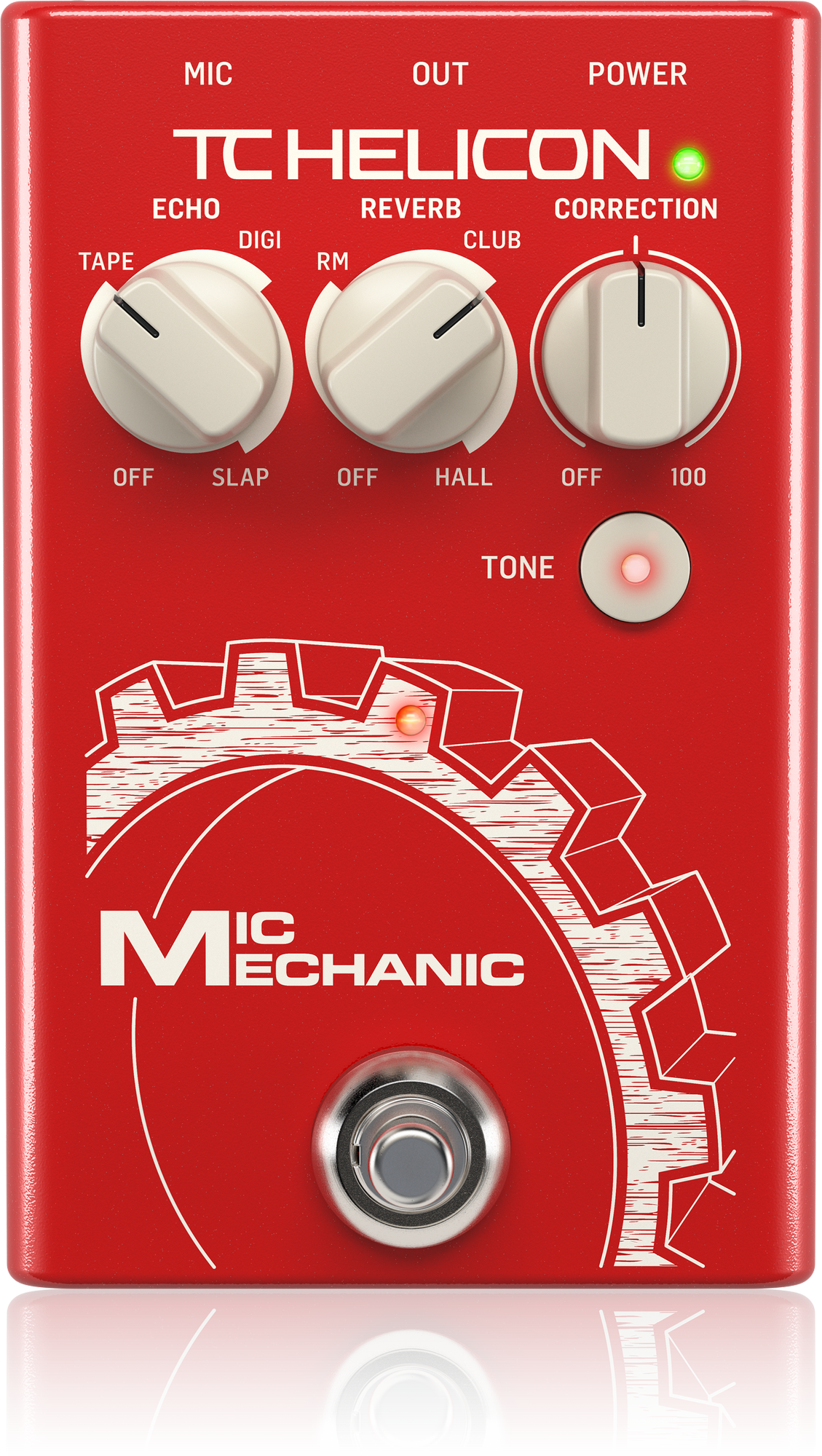 TC Helicon MIC MECHANIC 2 - Pedale d'effet Voix