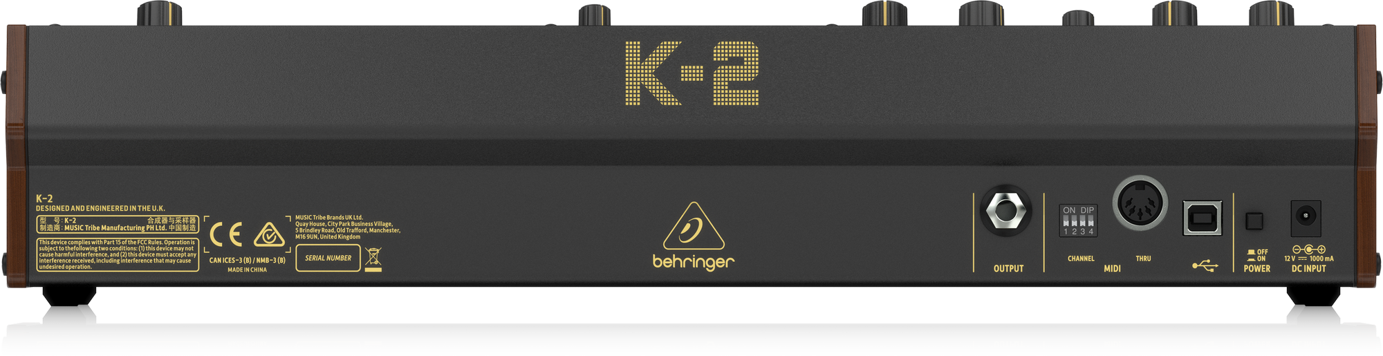Behringer K-2 - Synthésizeur