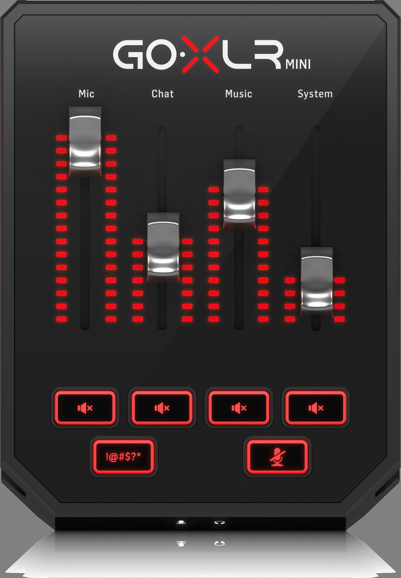 TC Helicon GO XLR MINI - Streaming mixer