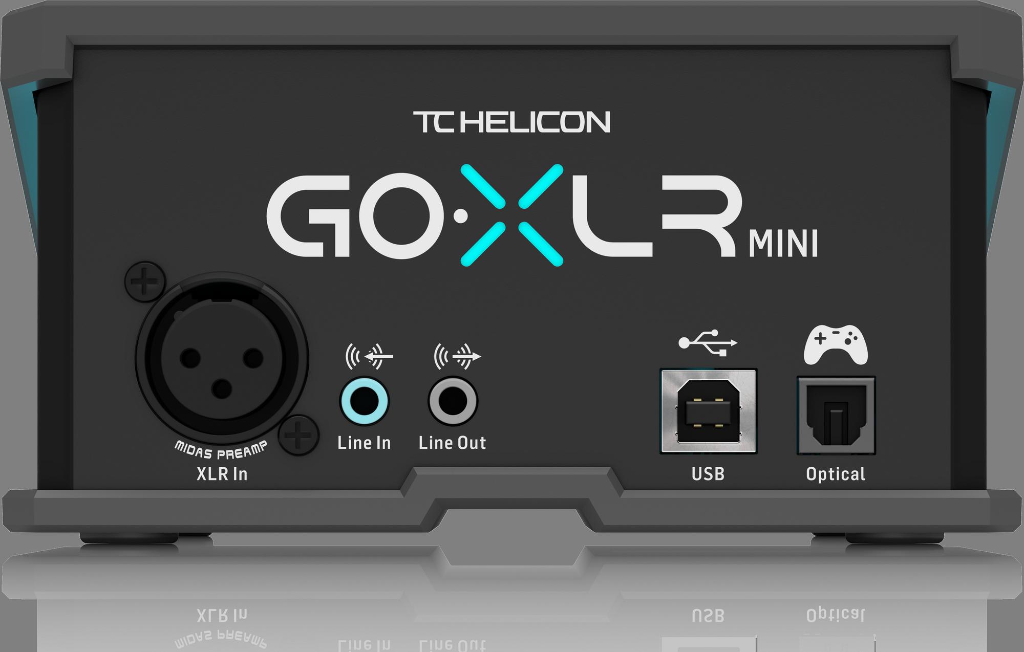 TC Helicon GO XLR MINI - Mélangeur de streaming