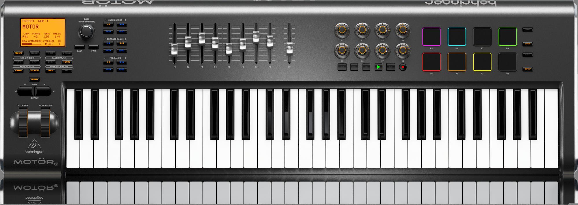 Behringer MOTÖR 61 - Midi Keyboard