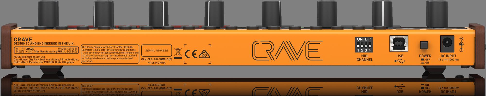Behringer CRAVE - Synthétiseur analogique