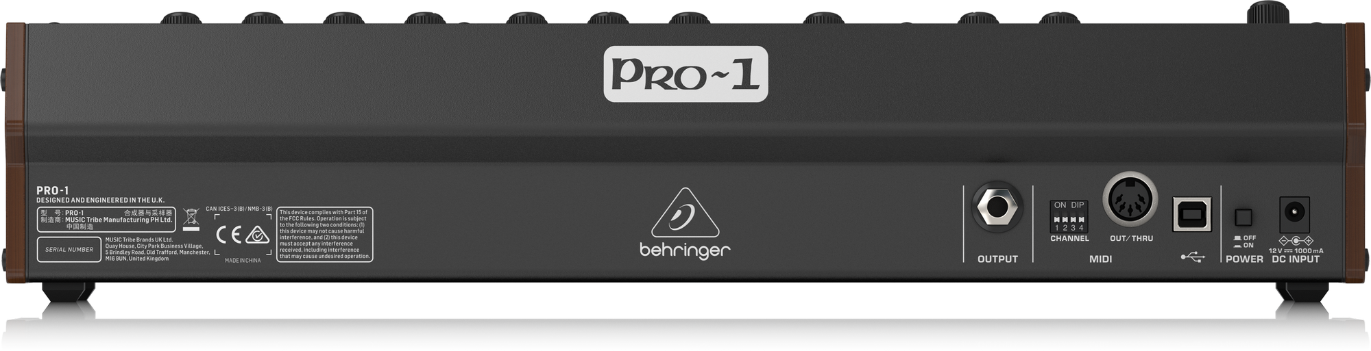 Behringer PRO-1 - Synthétiseurs analogiques