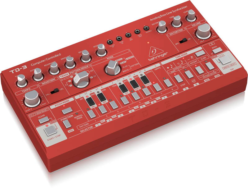 Behringer TD-3-RD - Analog Synthesizer
