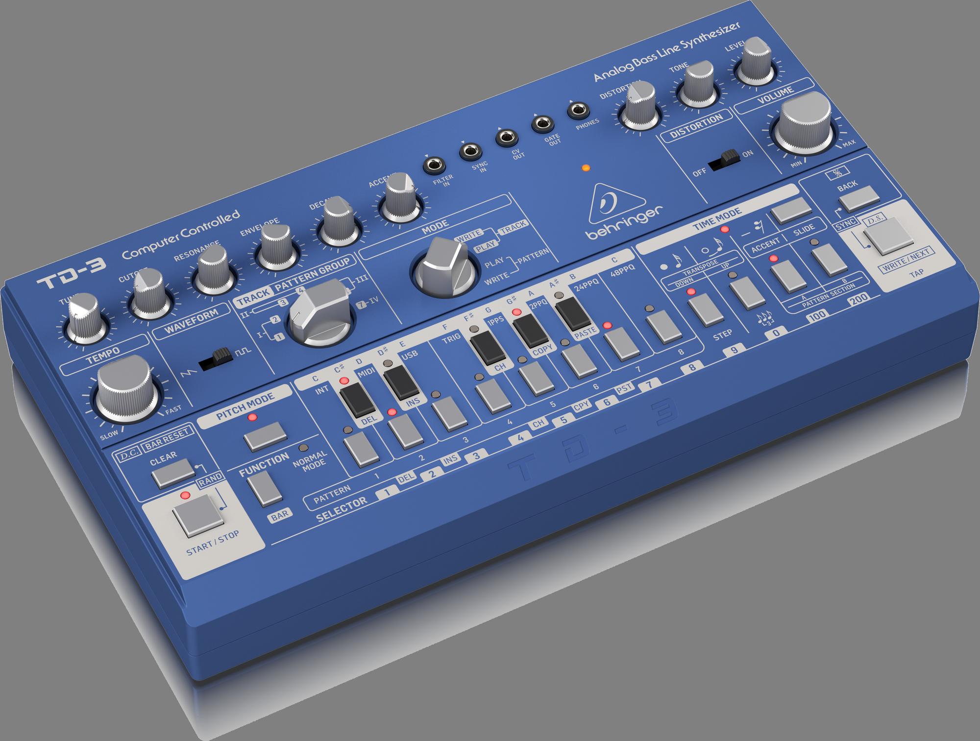 Behringer TD-3-BU - Analoge Synthesizer