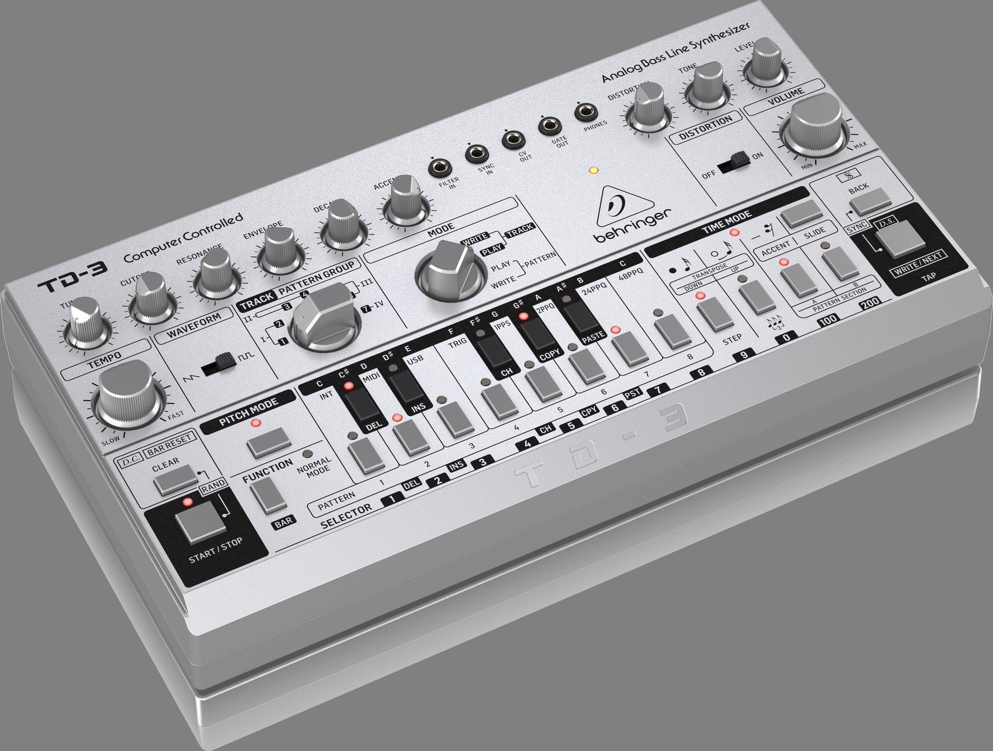 Behringer TD-3-SR - Analoger Synthesizer