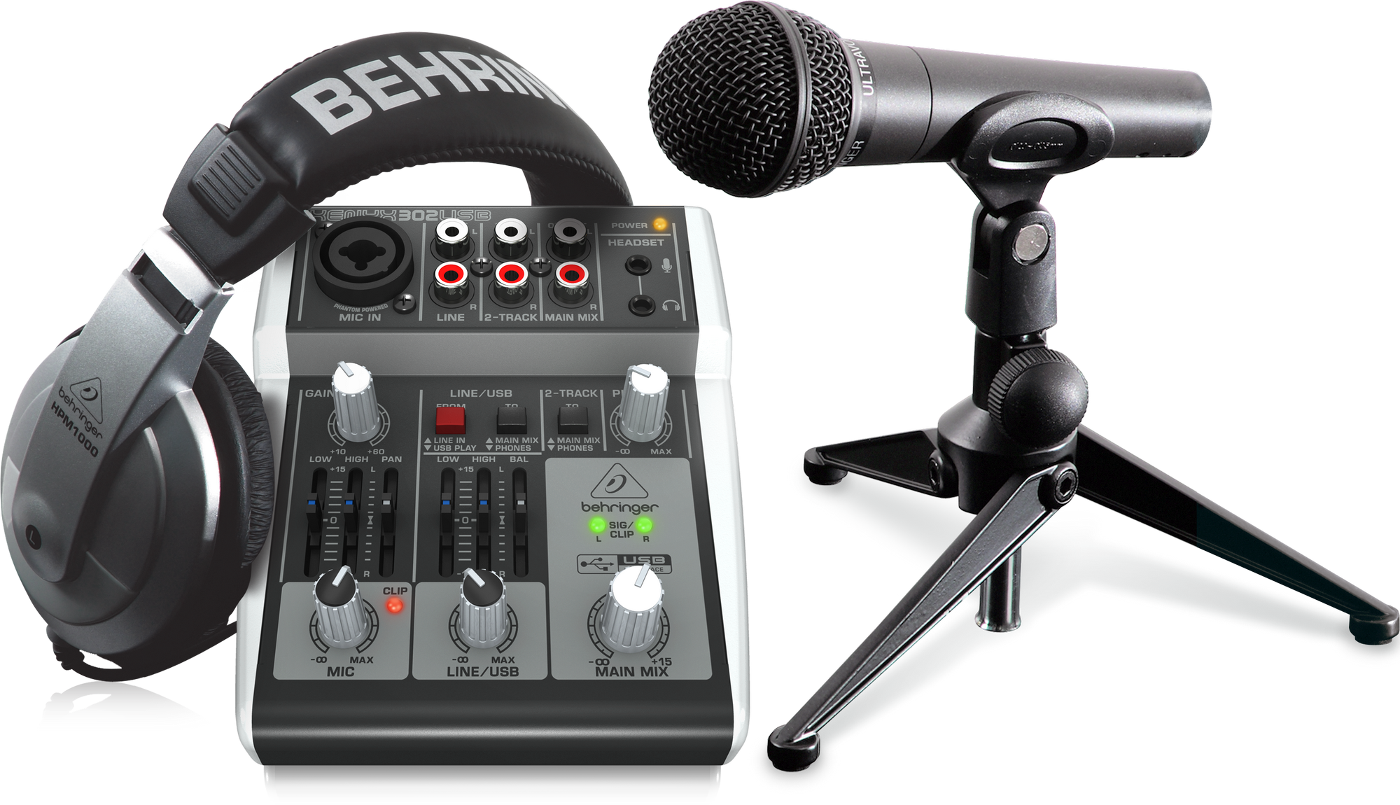 Behringer PODCASTUDIO 2 USB-EU