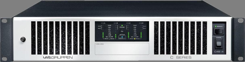 Lab Gruppen C 48:4 - Install amplifier