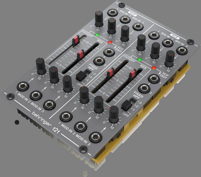 Behringer Behringer 121 DUAL VCF Legendary Analog Dual VCF Module