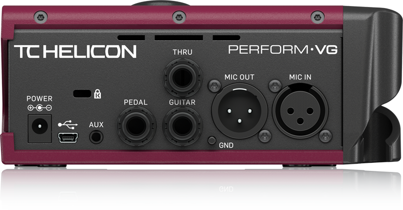 TC Helicon PERFORM VG Vokal- und Akustikgitarrenprozessor
