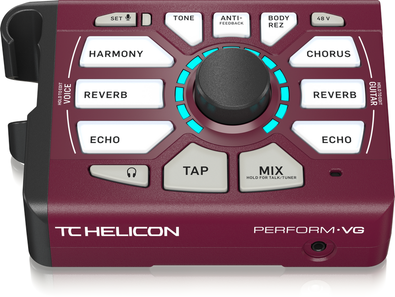 TC Helicon PERFORM VG Vocal and Acoustic Guitar Processor