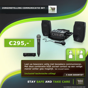 Behringer Zorginstelling Communicatieset