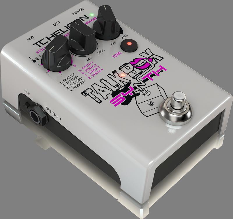 TC Helicon Talkbox Synth - Die Stombox, die das Beste aus Ihrer Stimme herausholt.