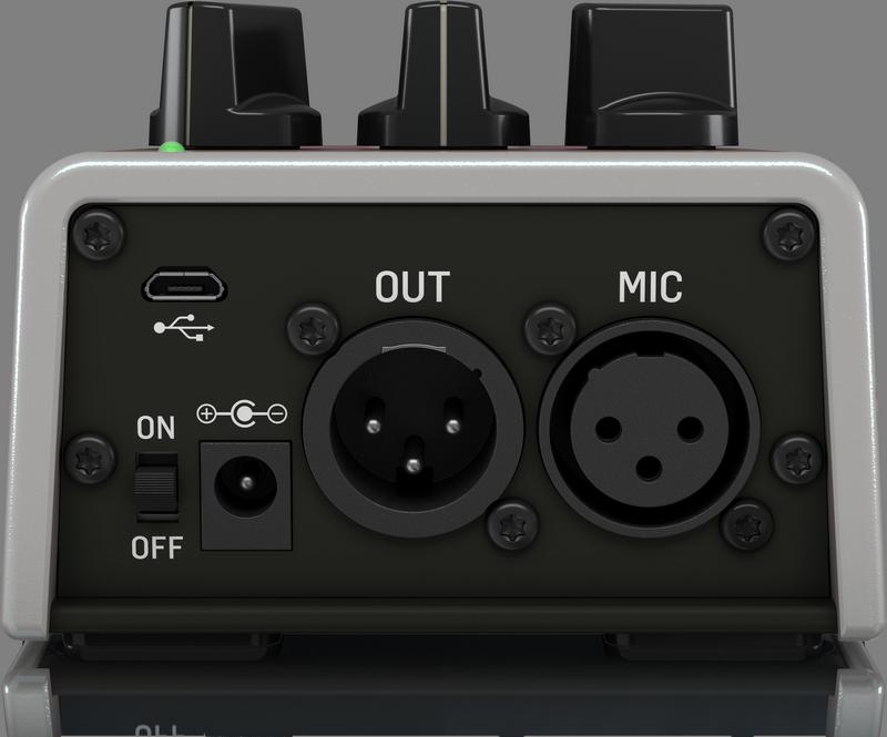 TC Helicon 59/5000 Talkbox Synth - Le stombox qui tire le meilleur parti de votre voix.