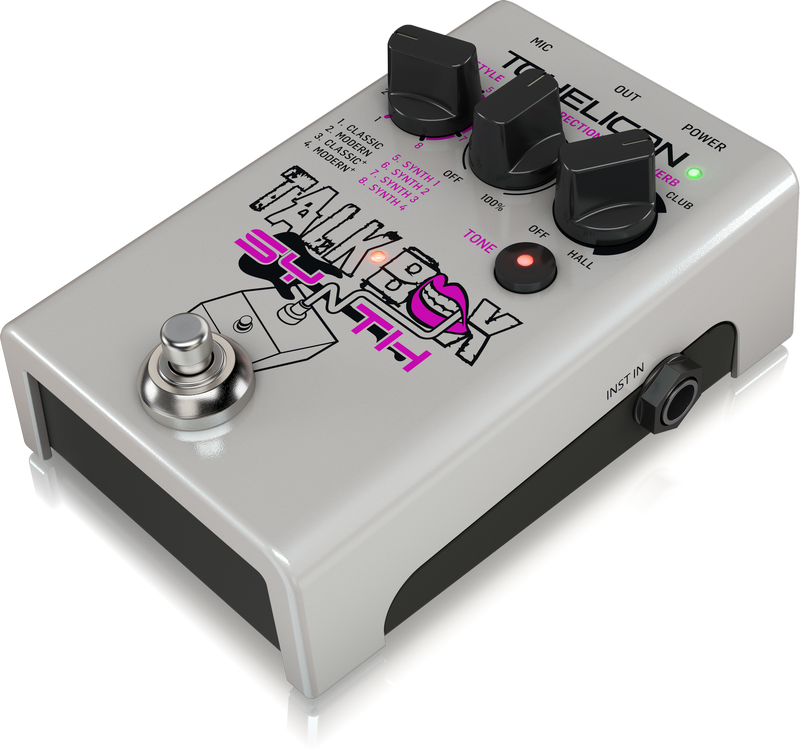 TC Helicon Talkbox Synth- The stopbox that get's the best out of your voice.