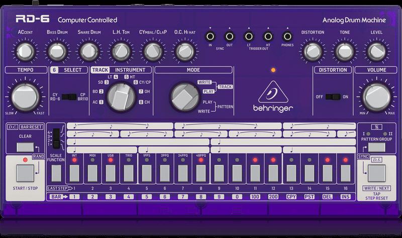 Behringer Behringer RD-6-GP Analog Drum Machine