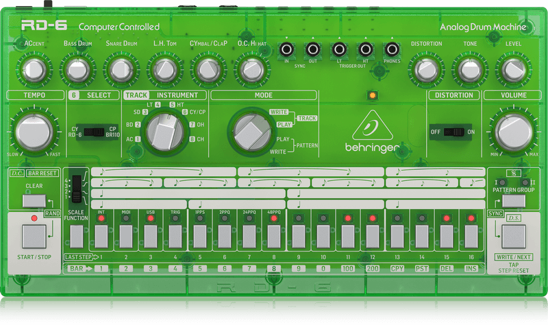 Behringer Behringer RD-6-LM Analog Drum Machine