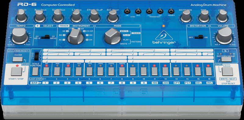 Behringer Behringer RD-6-BB Analoge drumcomputer