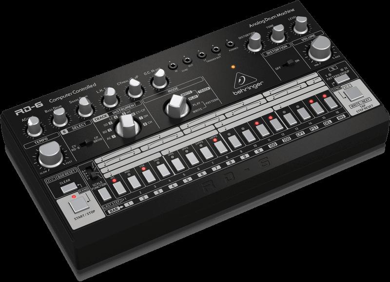 Behringer Behringer RD-6-BK Analog Drum Machine