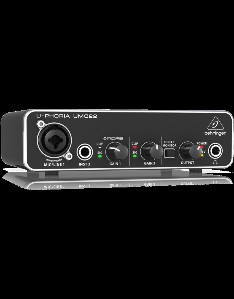 Behringer UMC22 - USB Audio Interface