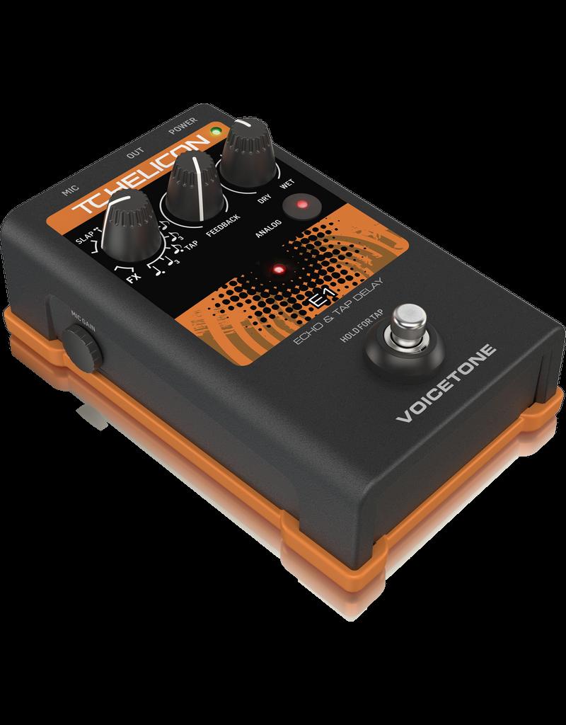 TC Helicon VOICETONE E1 - Vocal effect pedal