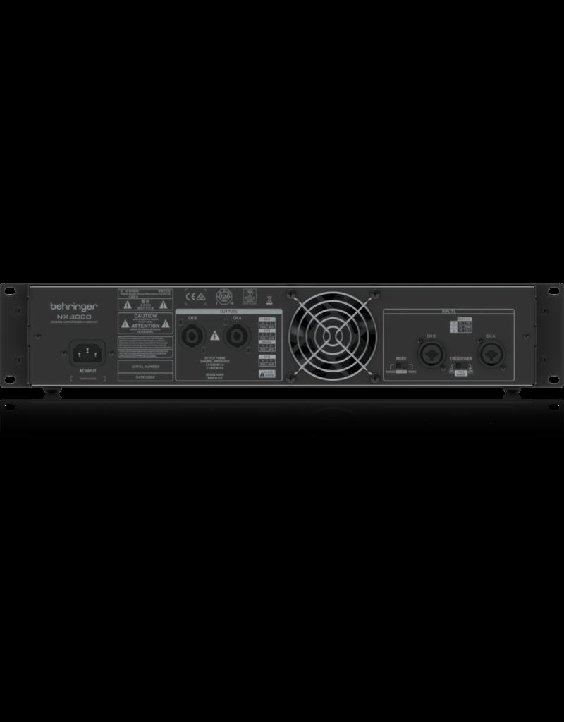 Behringer NX3000 Eindversterker